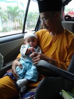 gambar Ayah dan Fateh
